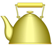 Teapot. Illustration of the teapot icon Royalty Free Stock Image