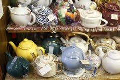 teapot inkasowy rocznik Fotografia Royalty Free