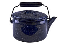 Teapot isolated Stock Photo