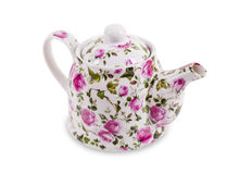 Teapot isolated on the white background Stock Image