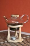 Teapot in the kitchen Royalty Free Stock Photo