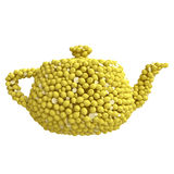 Teapot of lemons Royalty Free Stock Images