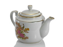 Teapot made of ceramic. Royalty Free Stock Image