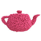 Teapot of raspberries Royalty Free Stock Photos
