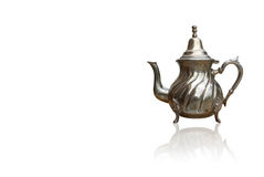 Teapot with reflection effect Stock Photo