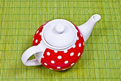 Teapot retro Fotos de Stock Royalty Free