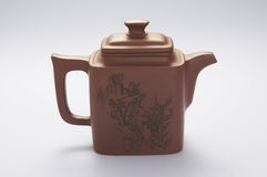 Teapot series stock photography