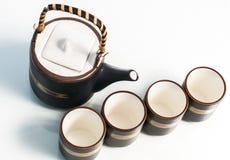 Teapot set Zdjęcie Stock