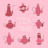 Teapot 4 Royalty Free Stock Image