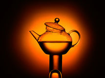 Teapot on stand Royalty Free Stock Photography