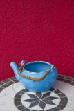 Teapot on a table Royalty Free Stock Photography