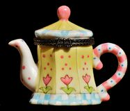 Teapot, Tableware, Porcelain, Dishware Royalty Free Stock Photos
