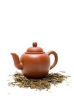Teapot and tea Stock Photography