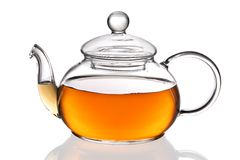 Teapot with tea Stock Image
