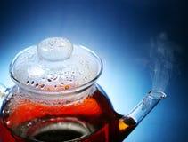Teapot with tea Stock Photography