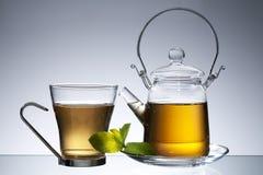Teapot with tea Royalty Free Stock Photos