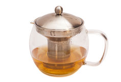 Teapot with tea Royalty Free Stock Images