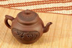 Teapot for tea preparation Stock Image