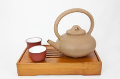 Teapot and Teacup Royalty Free Stock Photo