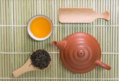 Teapot and teacup Stock Photography