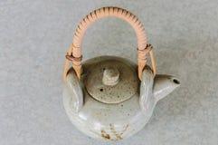 Teapot. Thai teapot, Chinese teapot on table in northern Thailand Stock Photos