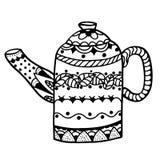 Teapot  vector Royalty Free Stock Photos