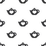 Teapot, vector seamless pattern Royalty Free Stock Photography