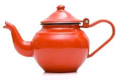 Teapot velho imagem de stock