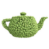 Teapot of watermelons Royalty Free Stock Images