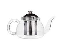 Teapot on a white Stock Images