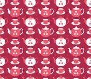 Teapot wzór Obraz Royalty Free