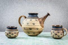 Teapot z filiżanką Fotografia Royalty Free