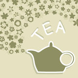 Teapot4 Royalty Free Stock Images
