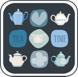 Teapots Stock Images