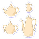 Teapots. Royalty Free Stock Photography