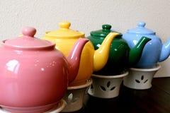 teapots Royaltyfri Fotografi