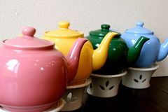 teapots Fotografia de Stock Royalty Free