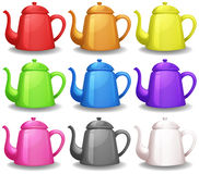 Teapots Stock Photos