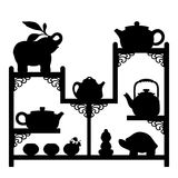 Teapots collection 2 Royalty Free Stock Photos