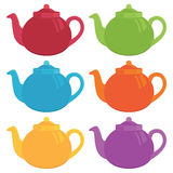 Teapots Royalty Free Stock Photography