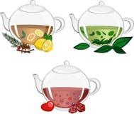 Teapots royalty free stock photo
