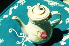 teapotwhite Royaltyfri Bild