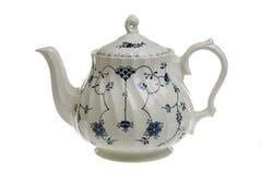 teapotwhite royaltyfria foton