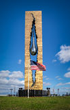 Tear Drop Memorial in Bayonne, New Jersey Stock Photo