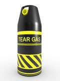 Tear gas Royalty Free Stock Photo