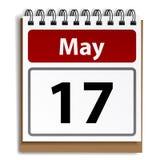 Tear-off day calendar Royalty Free Stock Photo