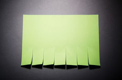 Tear off paper notice Stock Photography