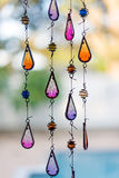 Teardrop background stained glass Stock Photo