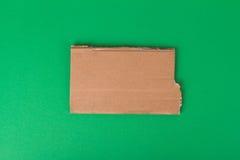 Teared Cardboard Stock Image
