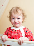 Tearful baby Royalty Free Stock Photo